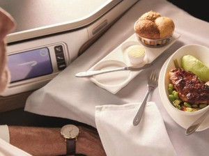 Maskapai Ini Tawarkan Sensasi Makan di Kabin Tanpa Harus Naik Pesawat