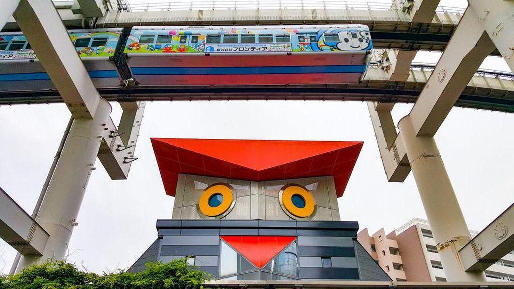 Takjub Lihat Monorel di Jepang, RI Bisa Nggak Ya Punya Begini?