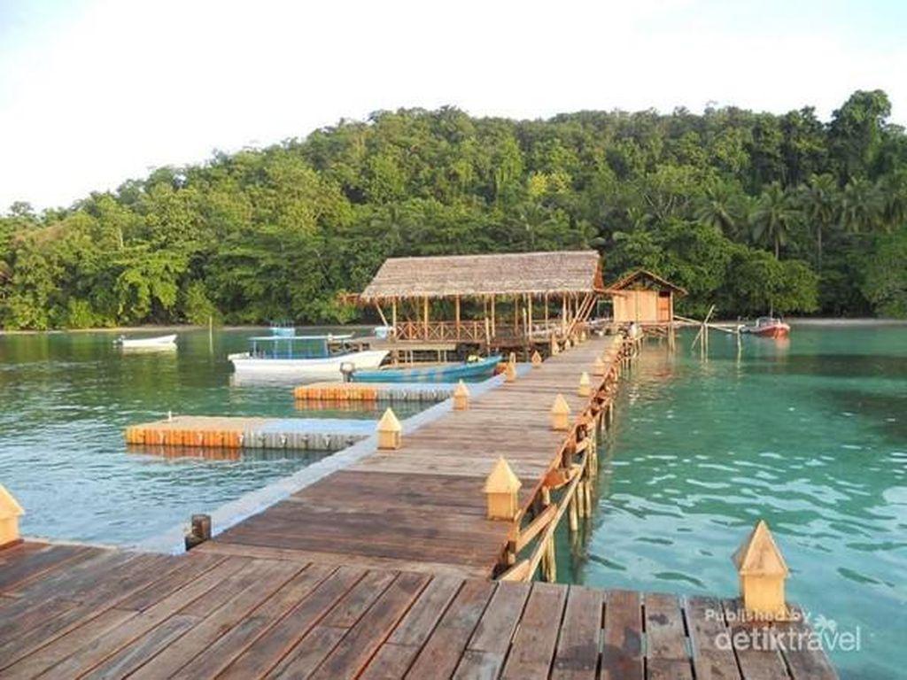 Lagi-lagi Pantai Waiwo Bikin Jatuh Hati