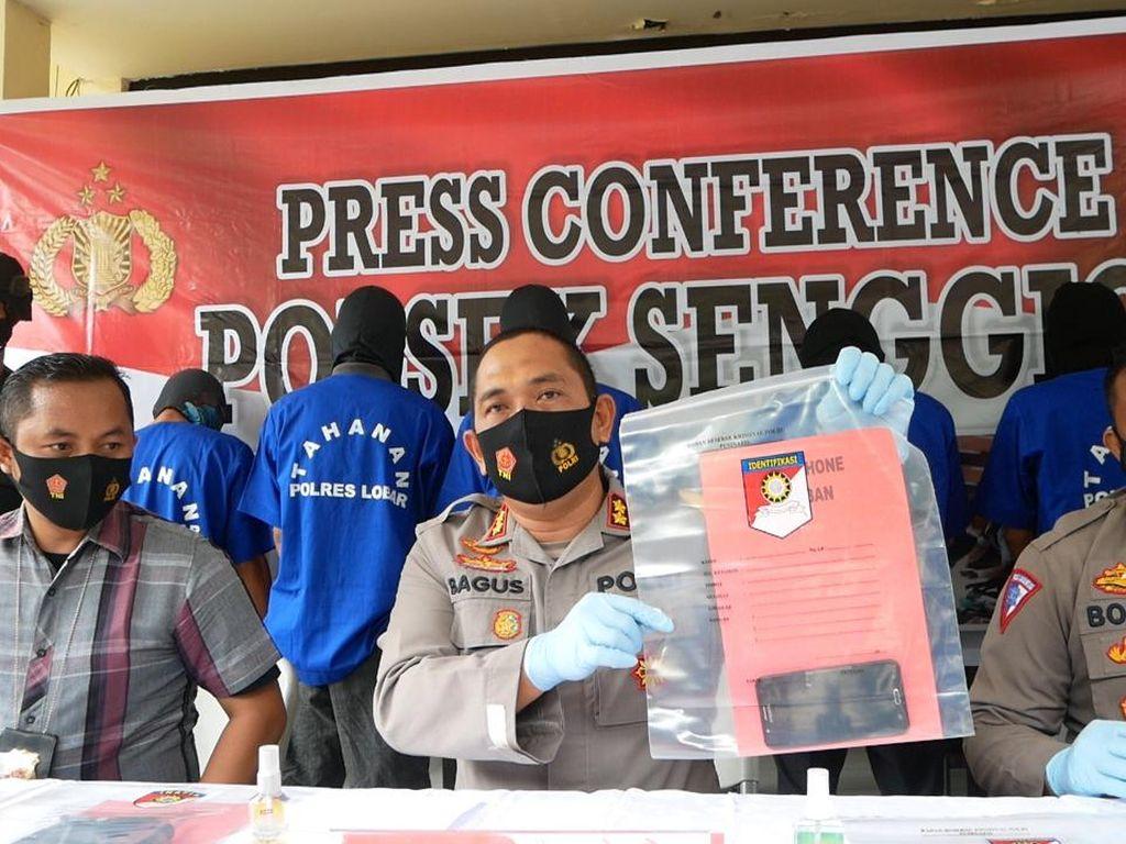 Polres Lombok Barat Bongkar Sindikat Pencurian Lintas Pulau