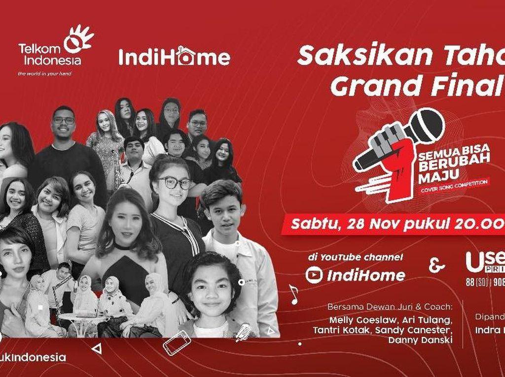 Malam Ini! IndiHome Siap Lahirkan Penyanyi Baru Indonesia