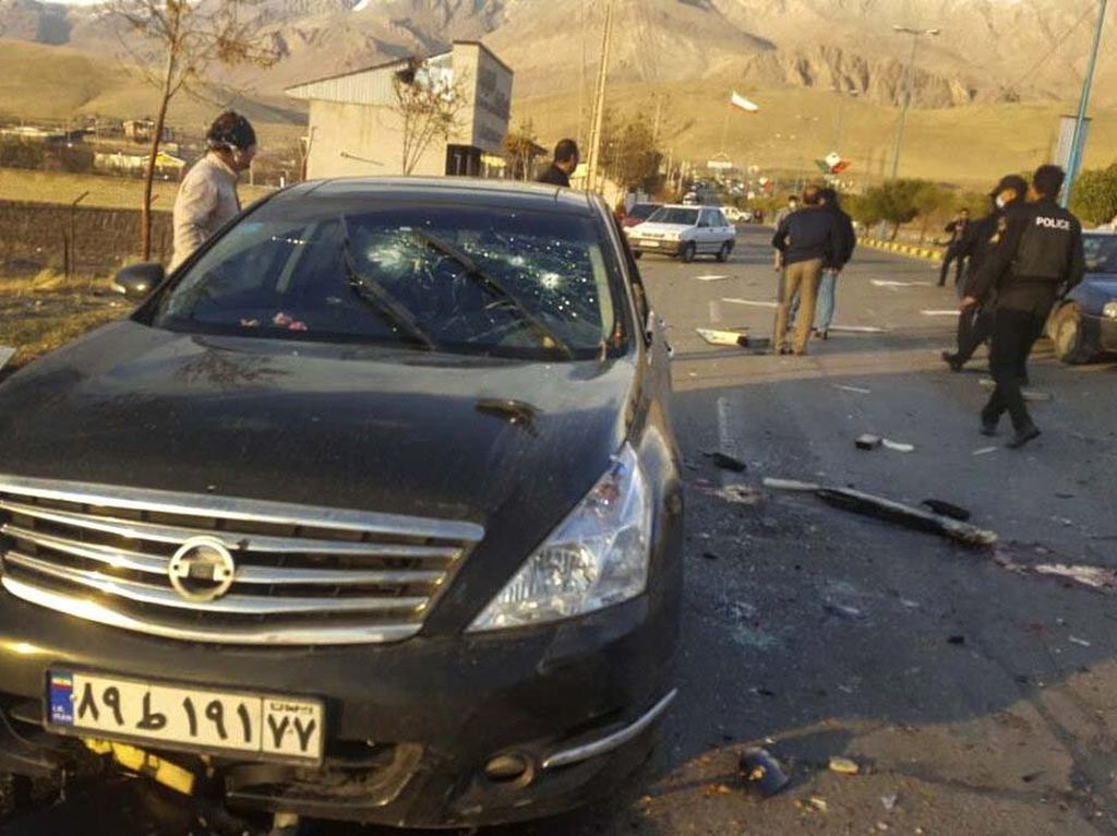 Ini Lokasi Tempat Ilmuwan Nuklir Iran Tewas Dibunuh