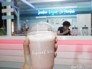 Bandung Punya Kafe Tropis Bergaya Pantai