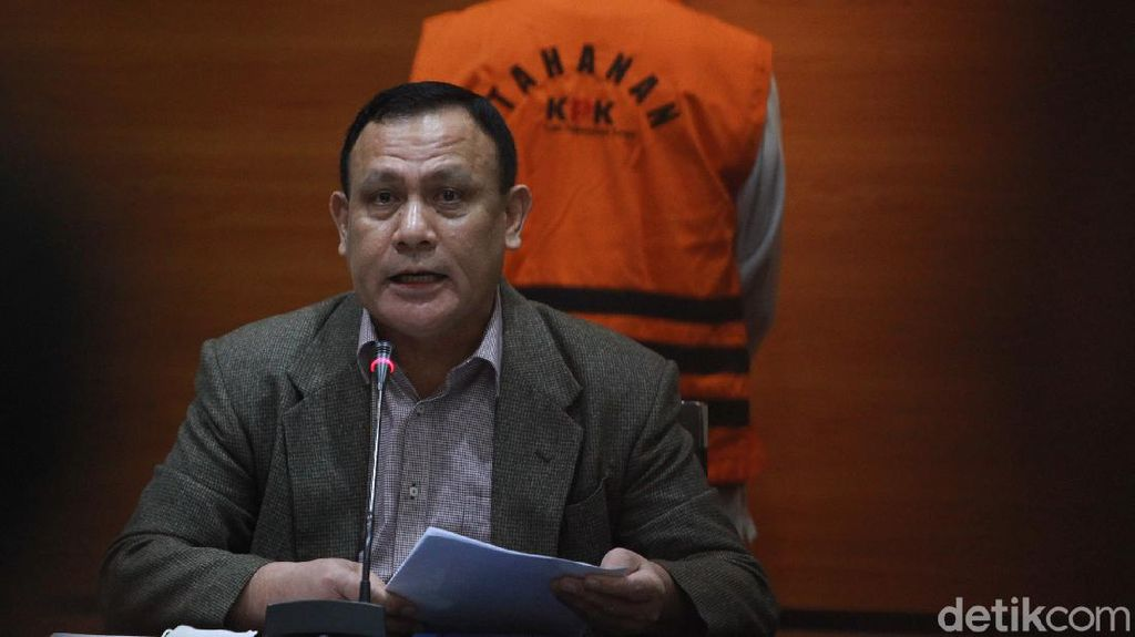 Ketua KPK Jelaskan Kasus OTT Wali Kota Cimahi