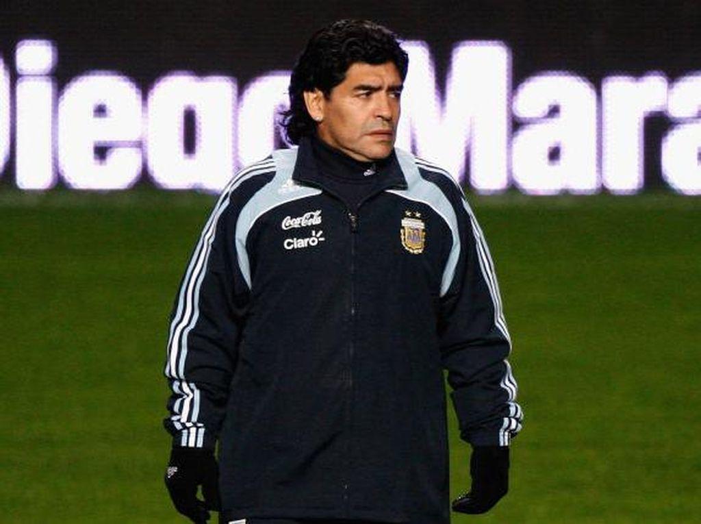 Keluarga Maradona Berebut Warisan Rp 695 Miliar
