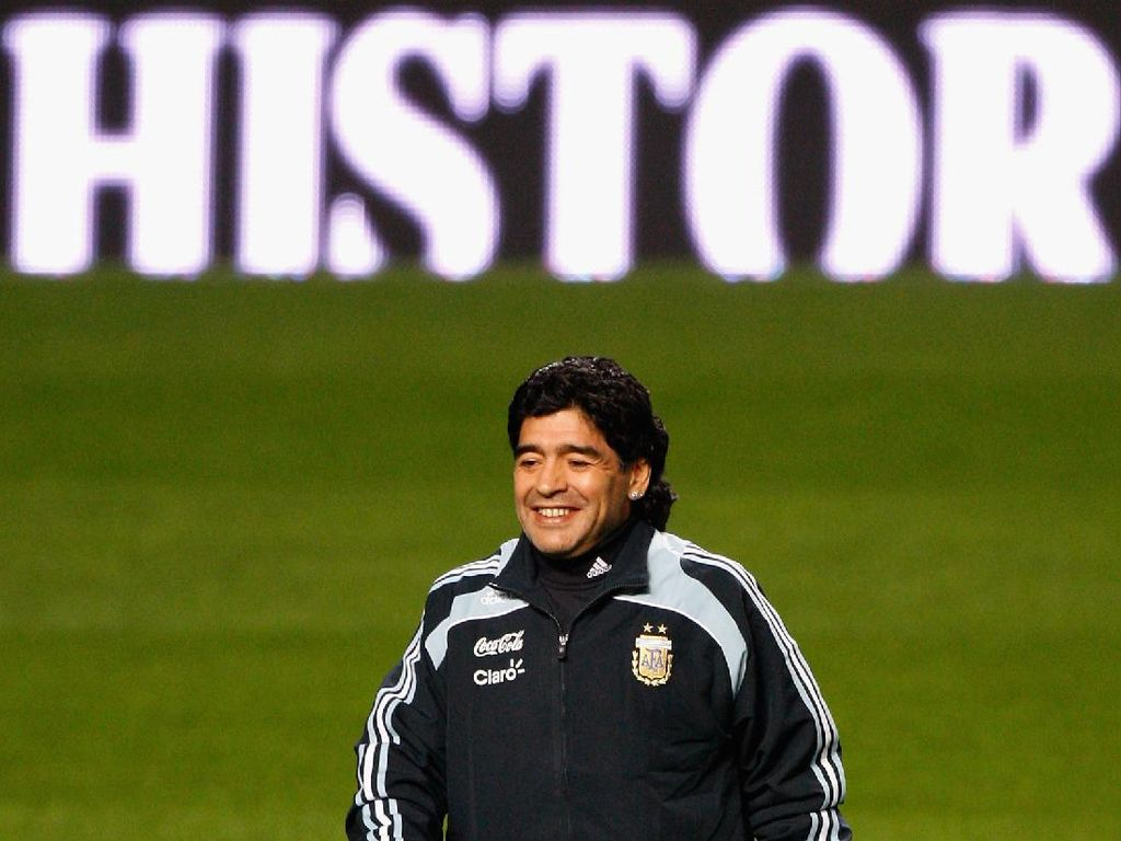 Maradona Diusulkan Jadi Nama Jalan di Buenos Aires