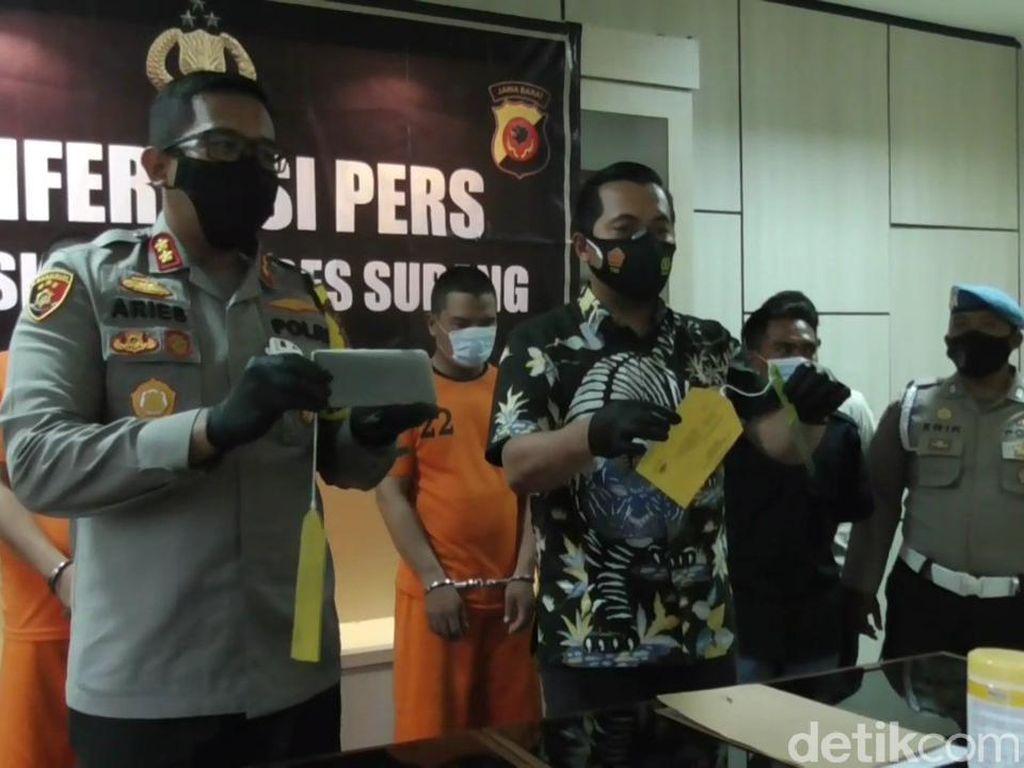Penjambret yang Kerap Beraksi di Jalur Pantura Subang Dibekuk Polisi