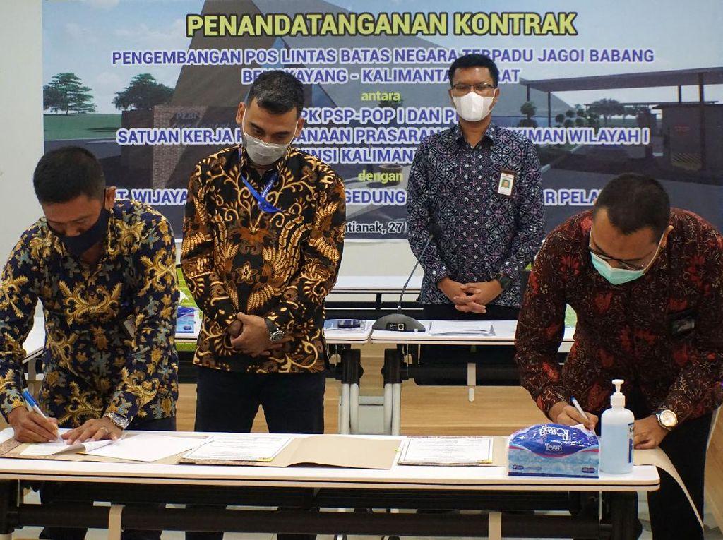 Perkuat Kedaulatan NKRI dengan Bangun PLBN Jagoi Babang