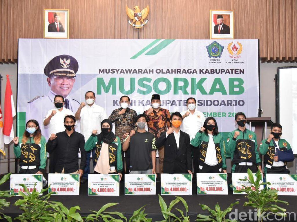 Pj Bupati Sidoarjo Dorong KONI Perbanyak Event Olahraga untuk Dongkrak Wisata