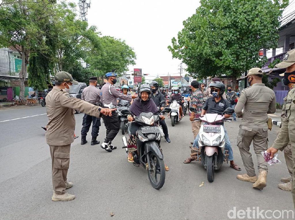 Pasien COVID-19 Melonjak, Polisi Kota Kediri Ingatkan Disiplin Protkes COVID 19