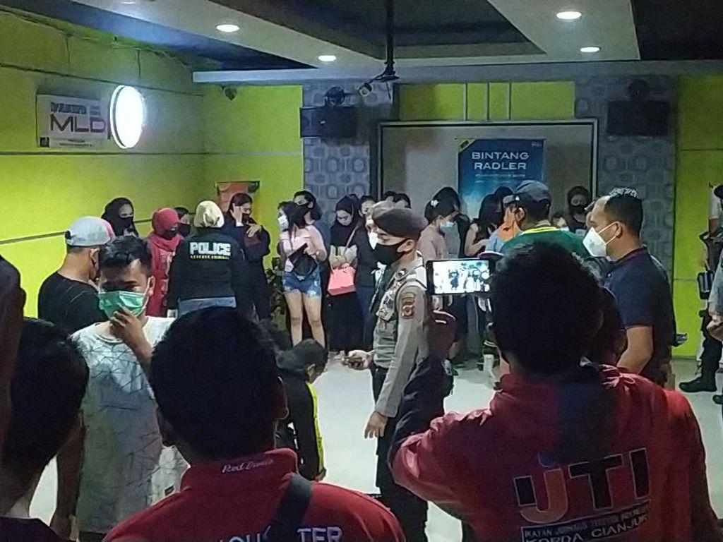 Positif Konsumsi Narkoba, 6 Tamu Karaoke di Cianjur Diamankan Polisi