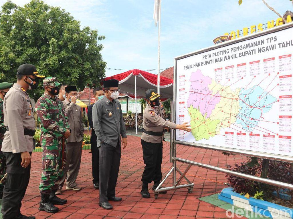 Jelang Pilkada, Polres Ngawi Siapkan 800 Personel untuk Pengamanan