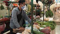 Potret Protokol COVID-19 Pasar Gondangdia, Aman dari Corona?