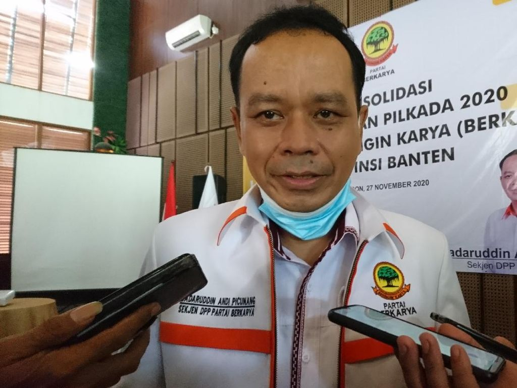 Andi Picunang Bantah Dipecat dari Sekjen Berkarya: Stempel DPP Dipalsukan!