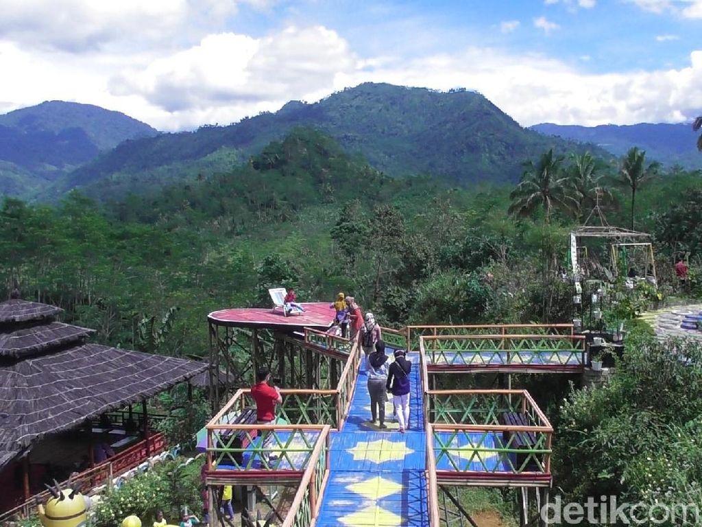 Pulas Garden, Wisata Tanaman Obat Kala Pandemi di Banjarnegara