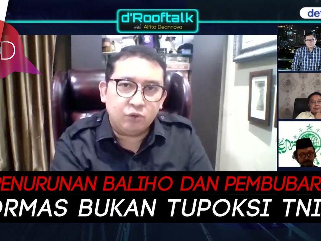 Fadli Zon: Copot Baliho, Pangdam Jaya Offside