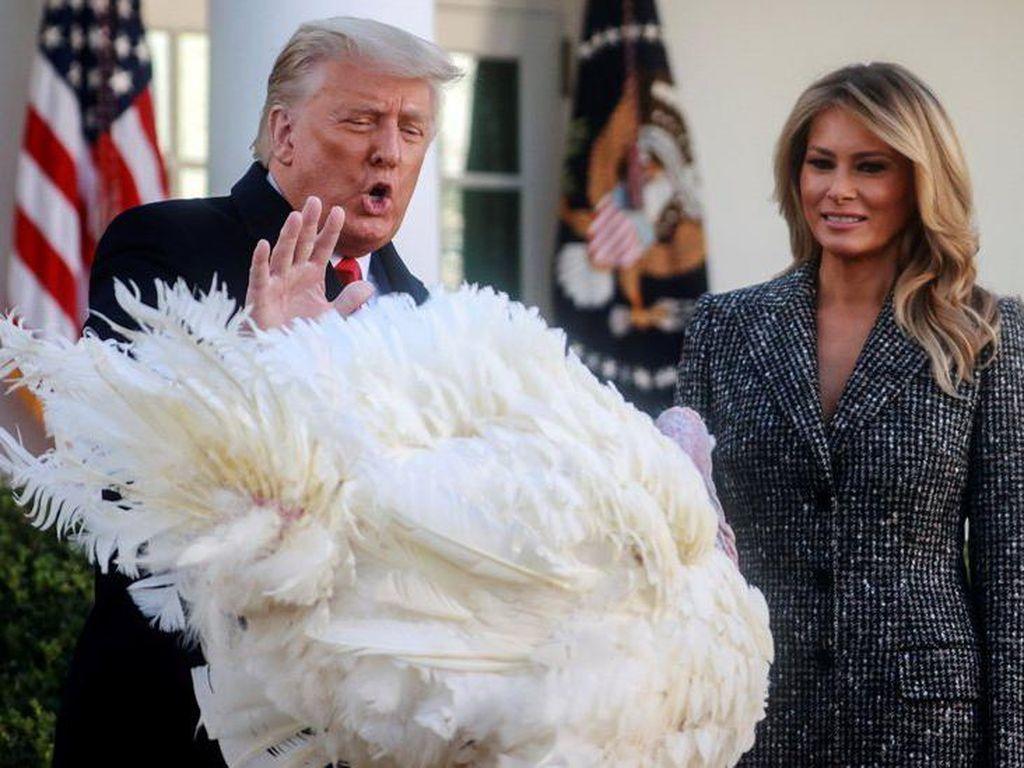 Trump, Pernyataan dan Berbagai Ekspresinya Usai Pilpres AS