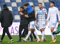 Sassuolo Vs Inter: Si Ular Belum Puaskan Conte