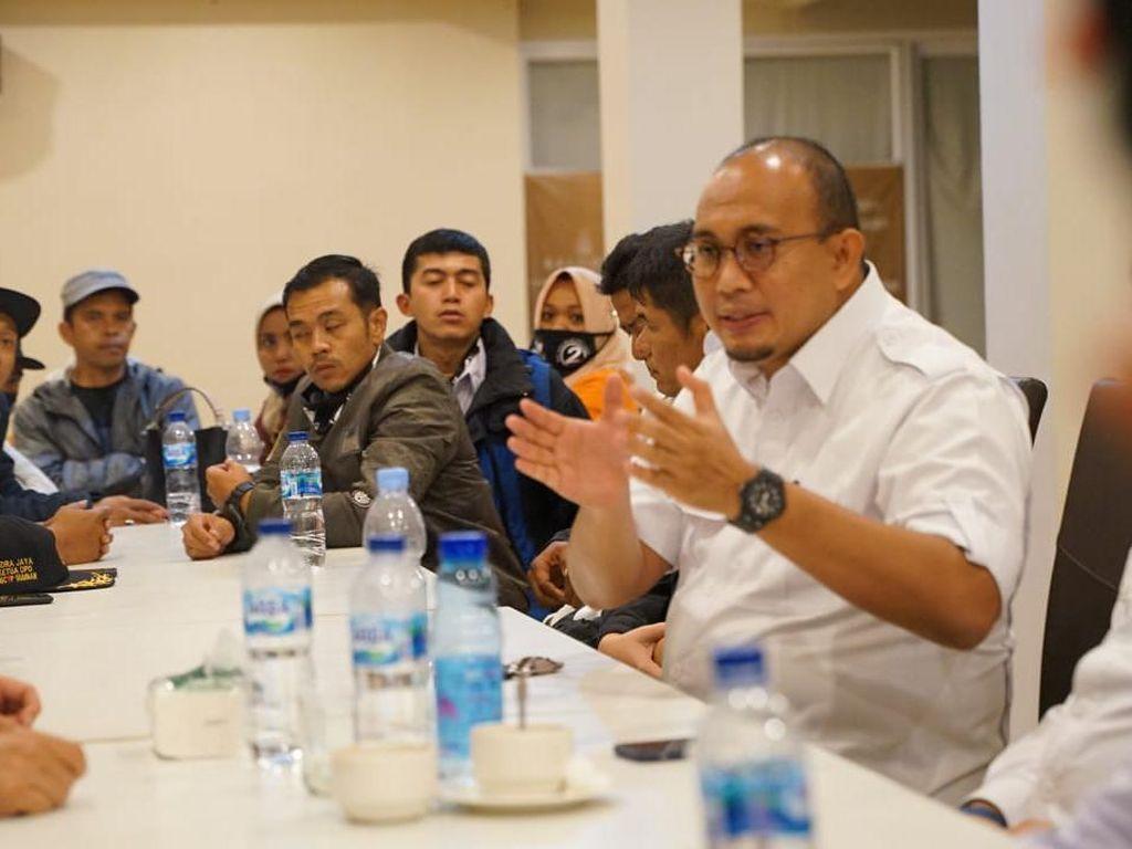 Andre Yakin Calon Wali Kota Jagoannya Menang di Bukittinggi