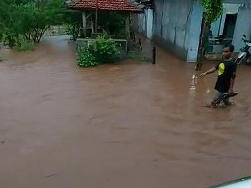 Hujan Deras Guyur Bojonegoro, Genangan Air Mirip Banjir Bandang