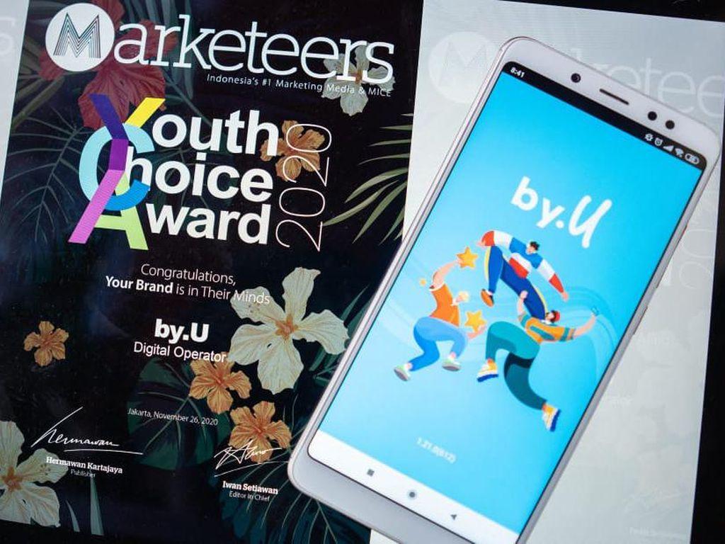 by.U Jadi Merek Digital Pilihan Gen Z Versi Marketeers