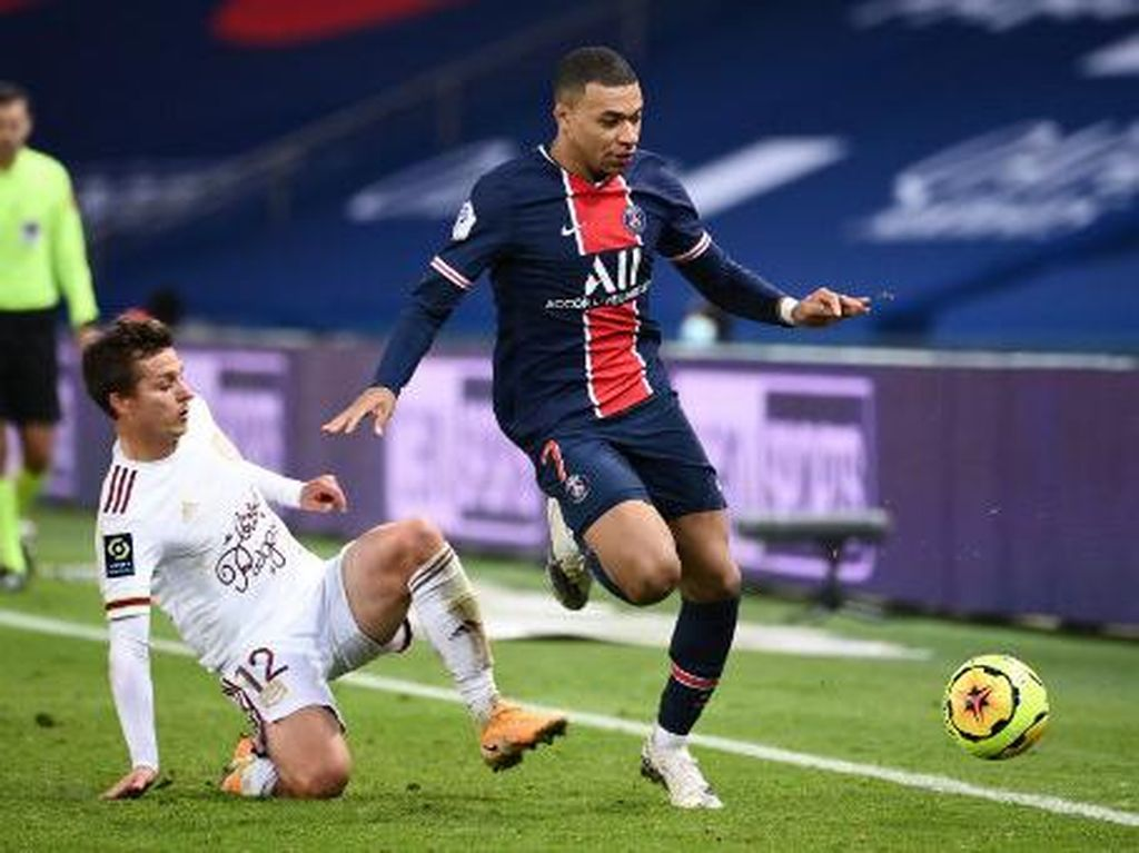 Hasil Liga Prancis: PSG Vs Bordeaux Berakhir Imbang 2-2