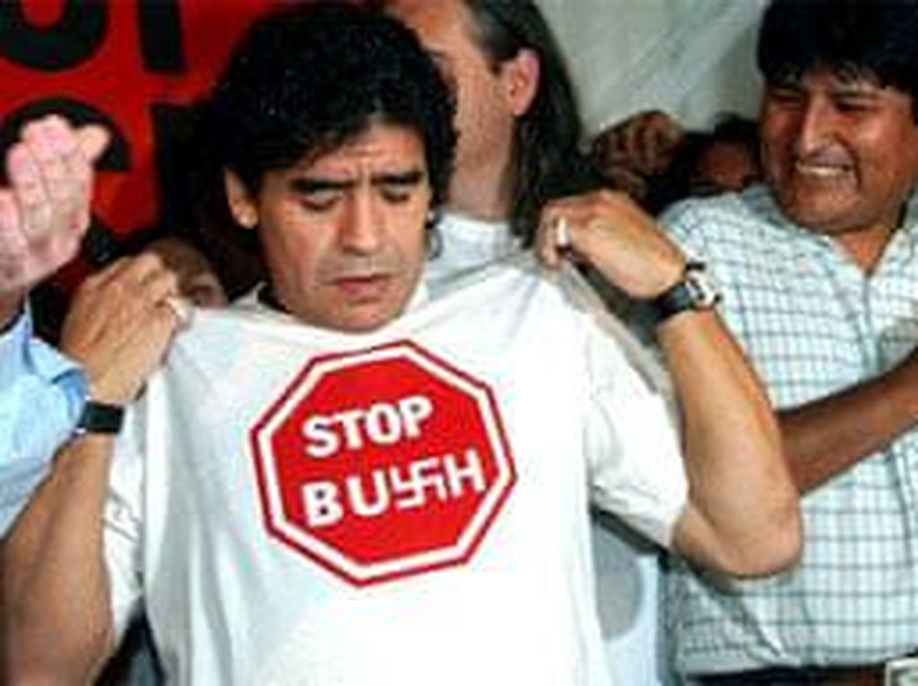 Maradona: Saya Benci Semua yang Berasal dari Amerika Serikat