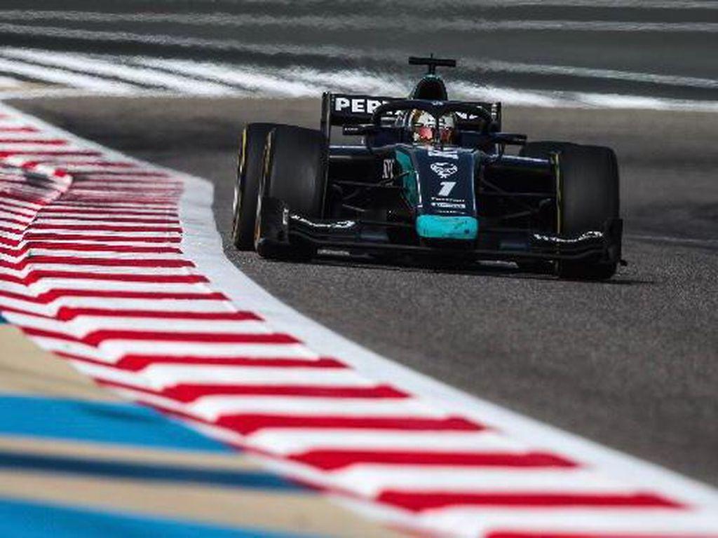 F2: DAMS Salah Strategi, Sean Nirpoin di Sprint Race Bahrain