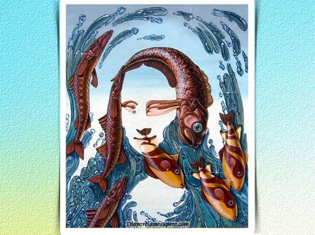 Tes Kepribadian: Gambar Mona Lisa atau Ikan yang Pertama Kamu Lihat?