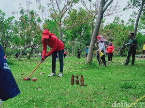 Pembinaan Atlet Woodball Klaten Sepi Gegara Imbas Pandemi Corona