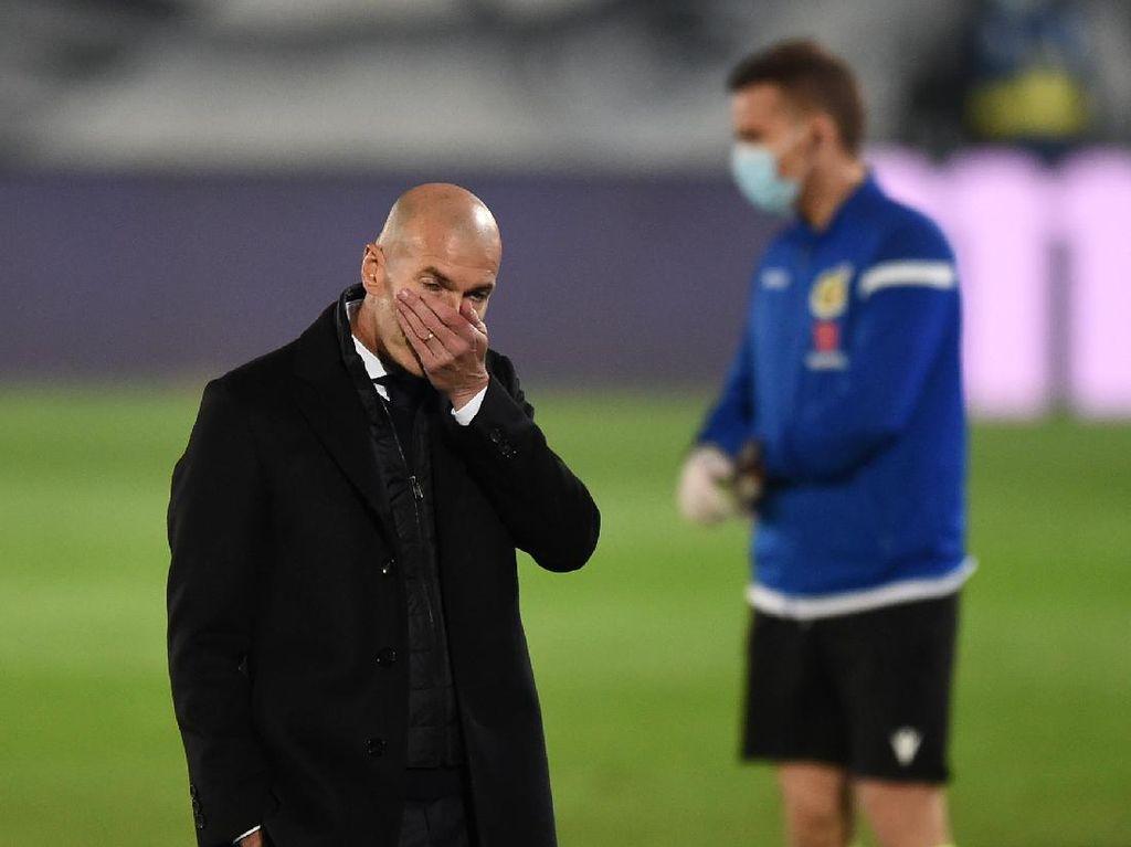 Zidane Khawatir dengan Madrid