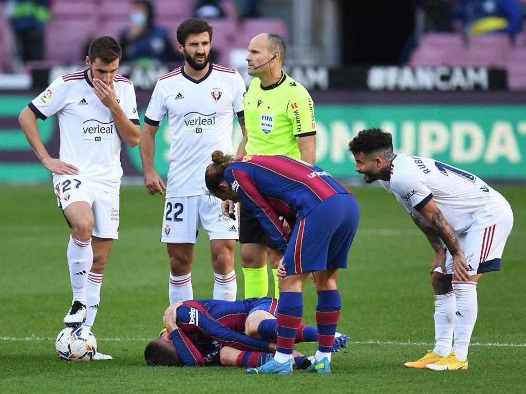 Barcelona Krisis Pertahanan, Semua Bek Tengah Cedera