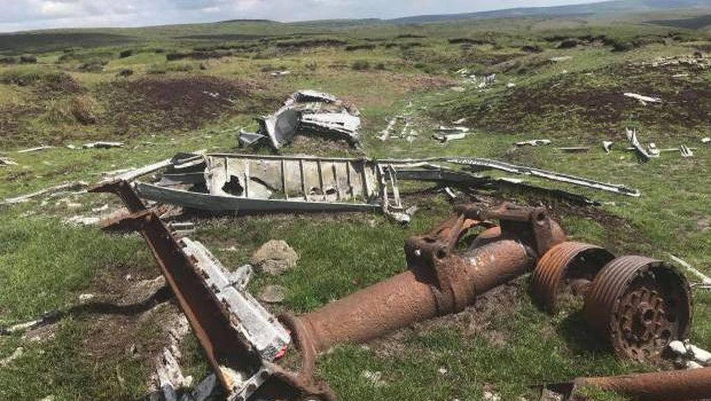 Keterlaluan, Lokasi Pesawat Jatuh Malah Buat Video Tiktok