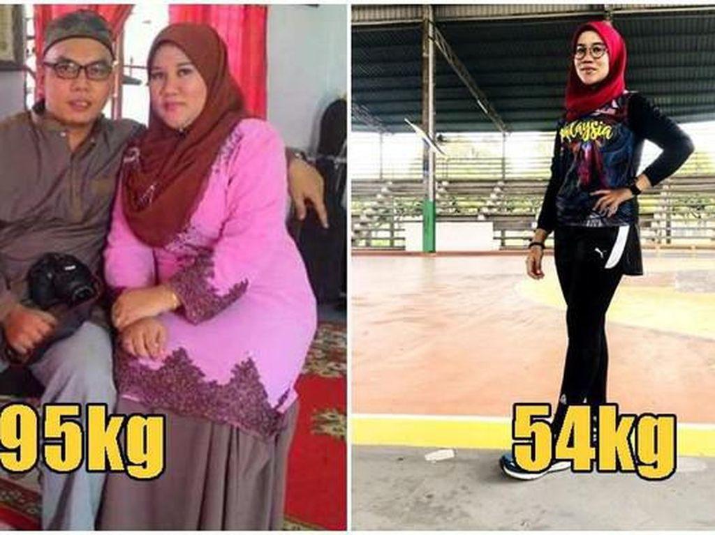 Salut! 5 Orang Ini Sukses Turunkan Berat Badan Hingga 40 Kilogram