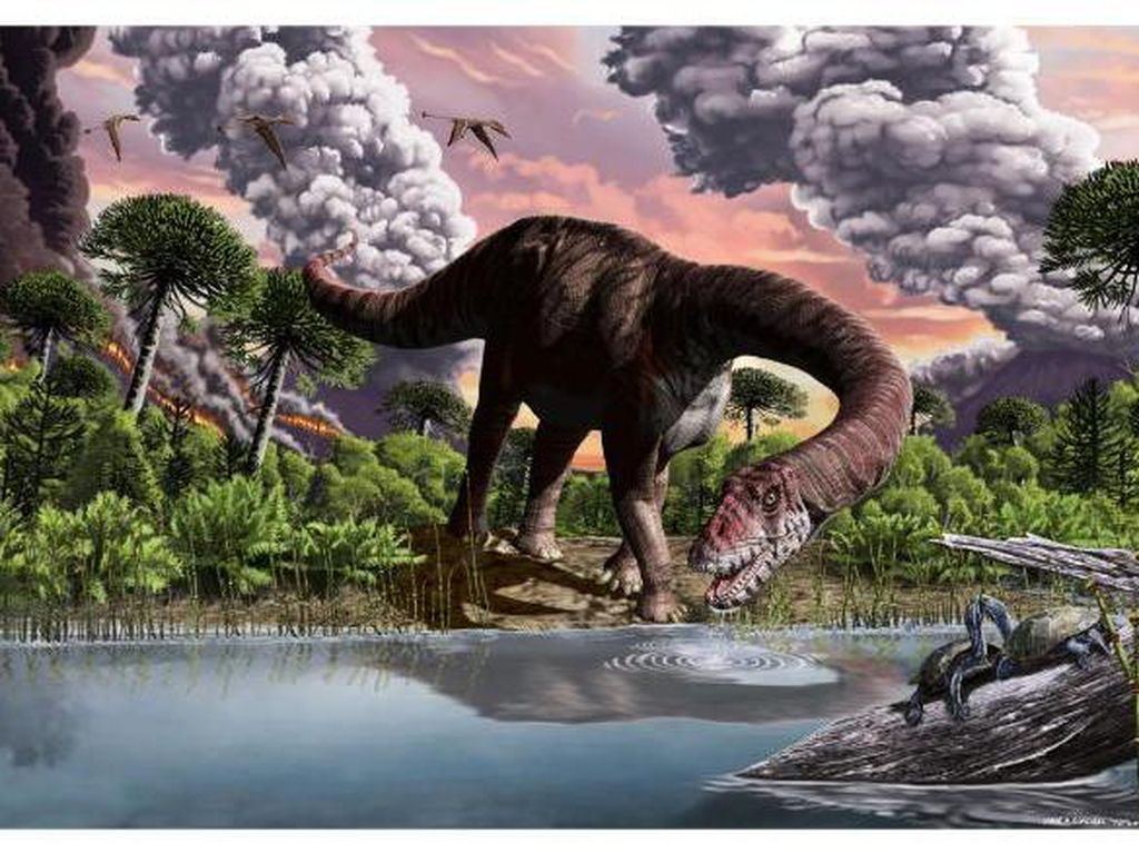 Mengapa Beberapa Dinosaurus Punya Leher yang Sangat Panjang?