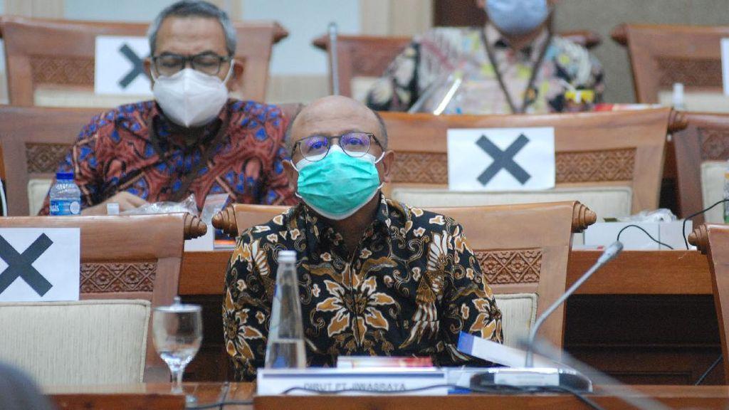Dirut Jiwasraya Sambangi DPR Bahas Restrukturisasi