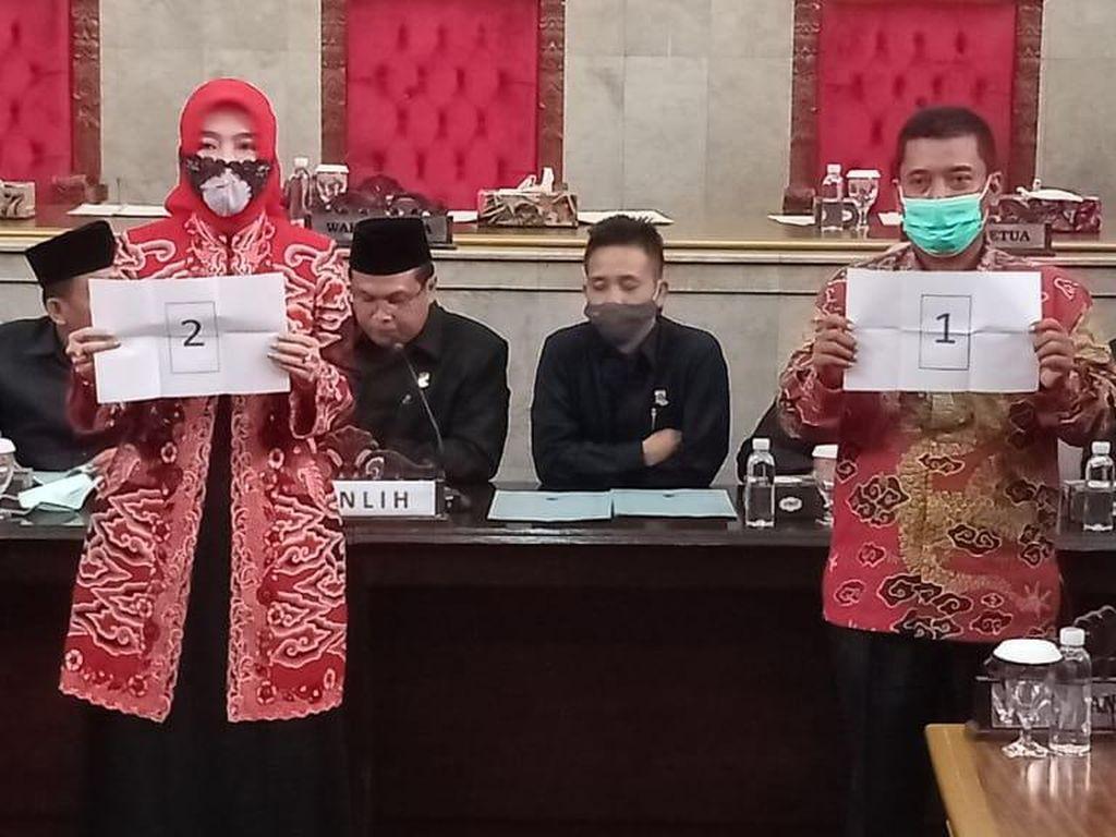 Istri Eks Bupati Sunjaya Jadi Calon Terkuat sebagai Wabup Cirebon