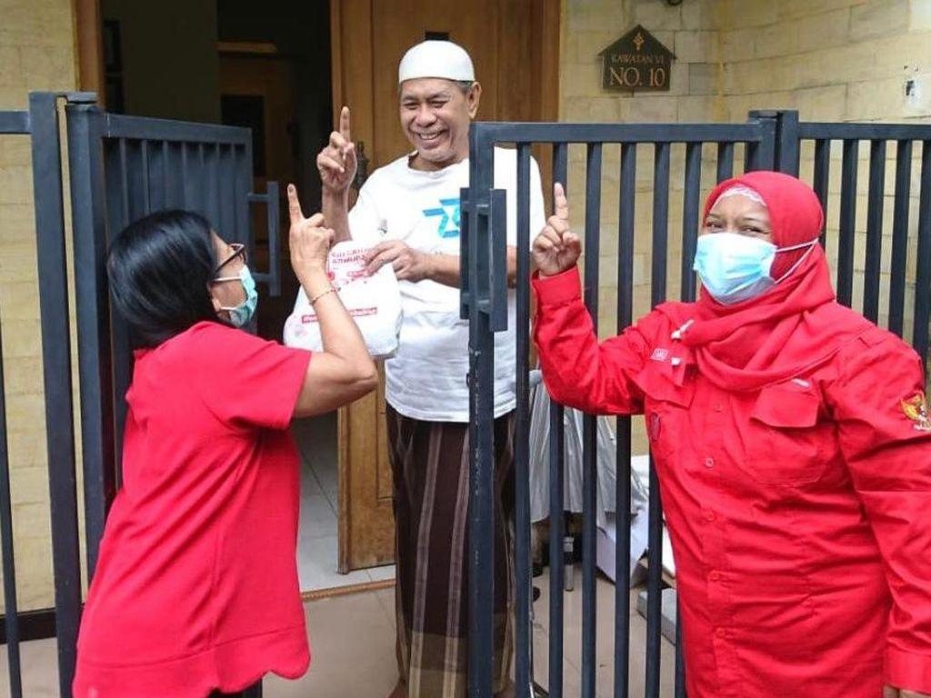 Unggul di Survei Cyrus Network, PDIP: Kami Jemput Kemenangan Door to Door