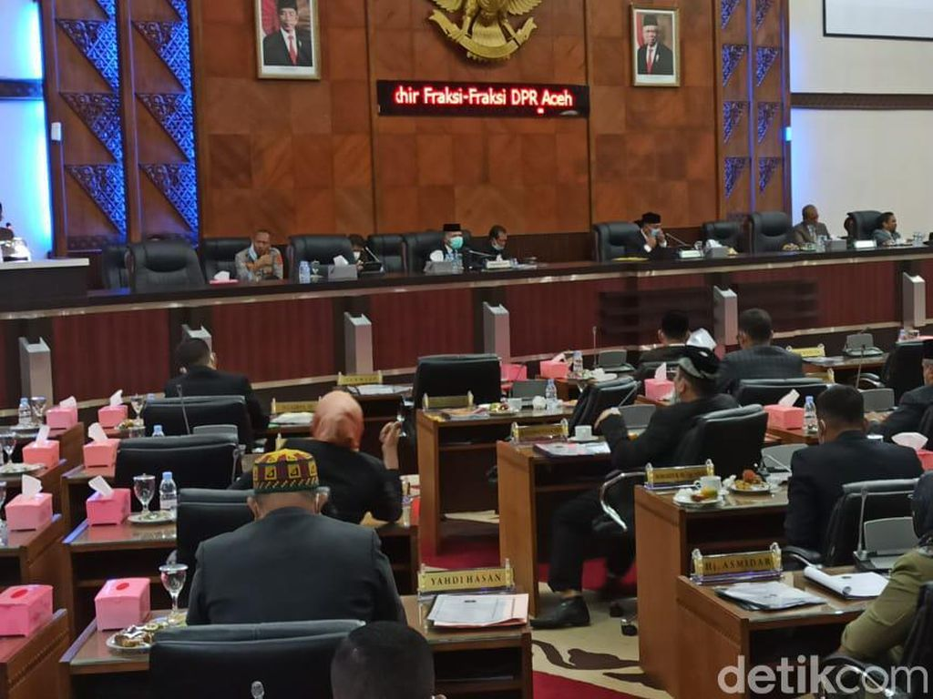 Setujui RAPBA Rp 16,9 T, Partai Aceh Soroti Kemiskinan-Pendidikan