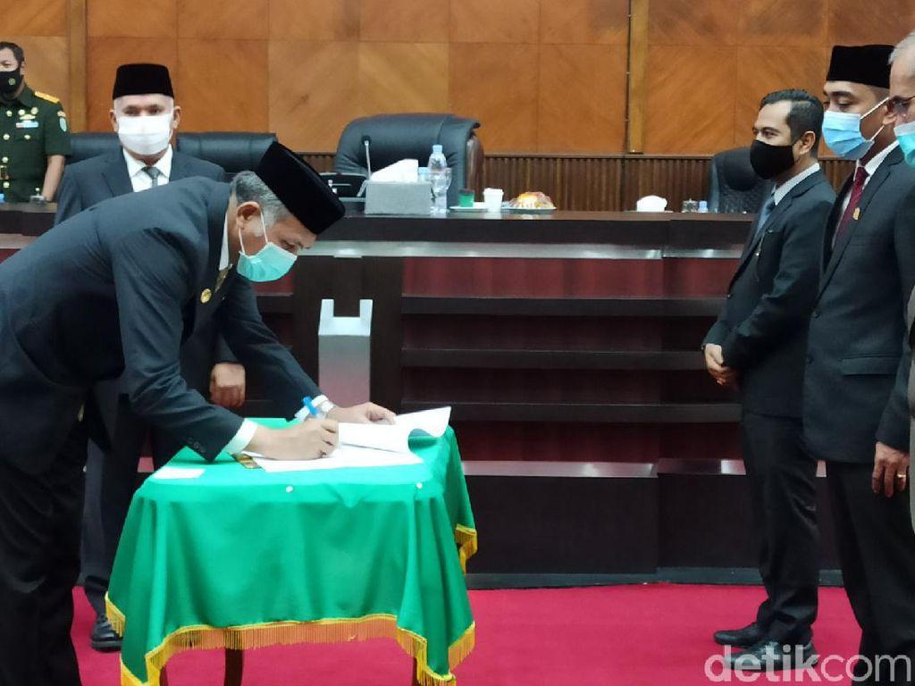 Tok! DPR Aceh Setujui APBA 2021 Rp 16,9 Triliun