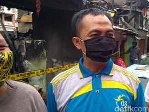 Cerita Ketua RT soal Kebakaran di Petamburan Hanguskan 12 Rumah