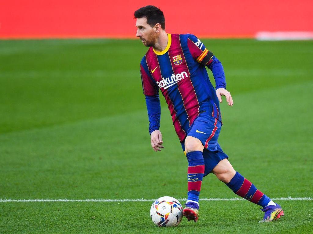 Saat Messi Nyaris Bikin Gol Tangan Tuhan Seperti Maradona