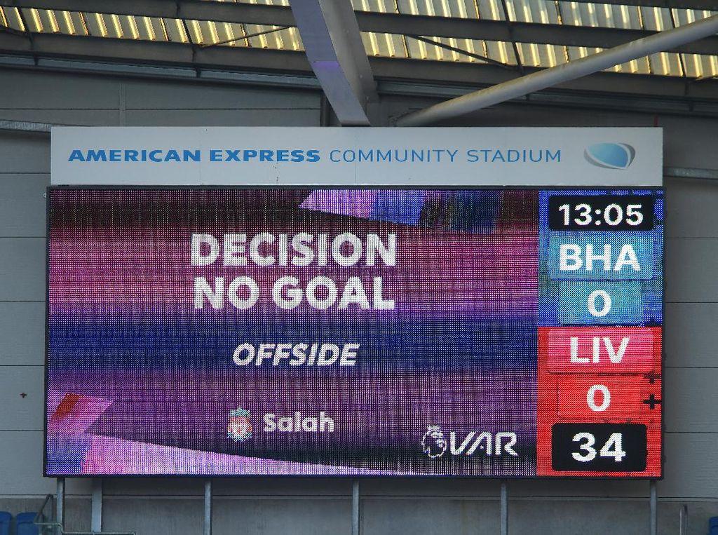 Wow! VAR Sudah Batalkan 5 Gol Liverpool di Liga Musim Ini