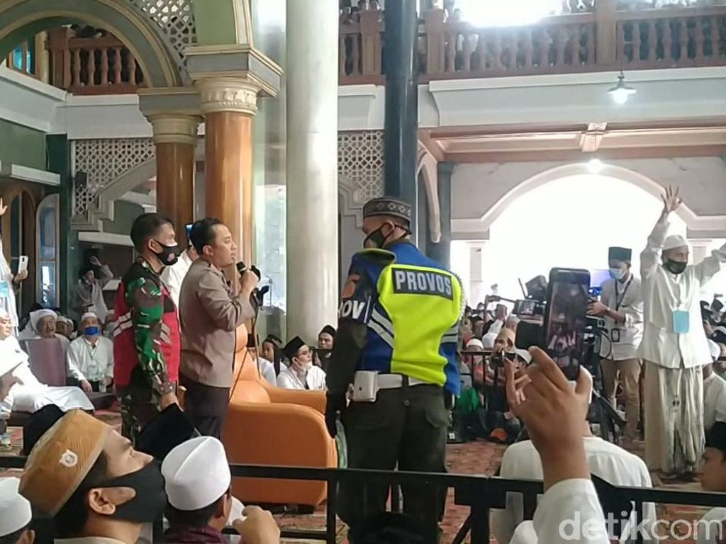 Pemkab Tangerang Akan Bicara Pembubaran Kerumunan Haul Syekh Abdul Qodir