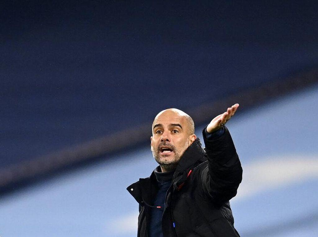 Guardiola Sudah 1.000 Poin di Liga, Rasio Terburuknya di Man City