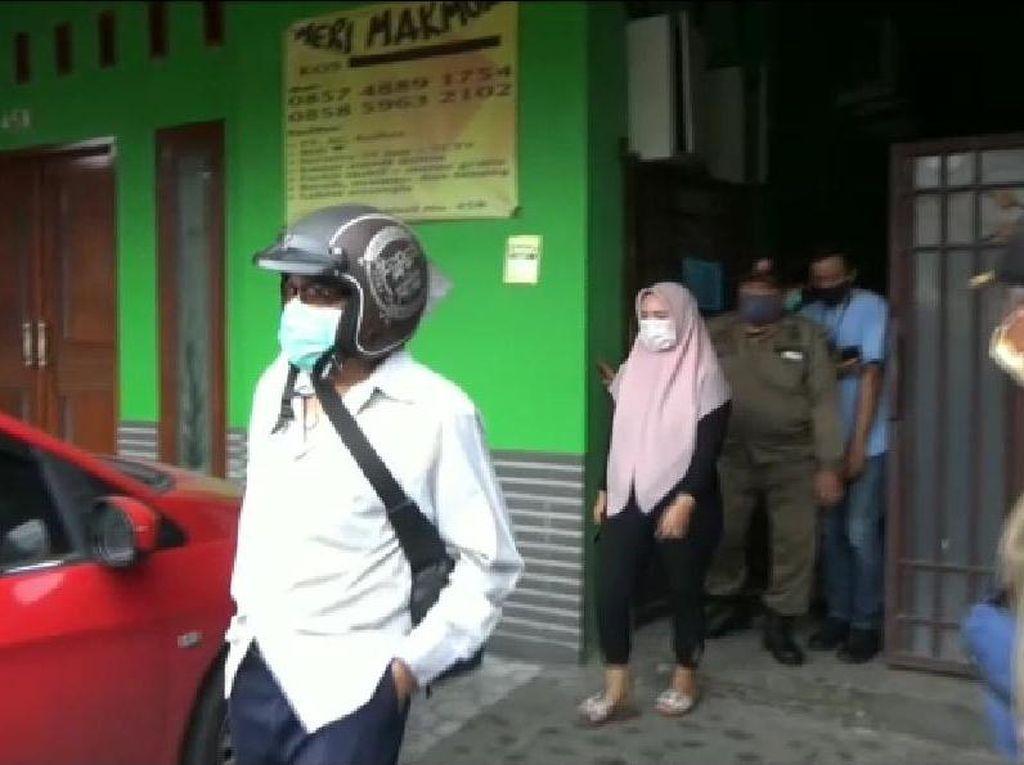 PNS dan Bu Dosen Terjaring Razia Sedang Berduaan di Rumah Kos Kota Mojokerto