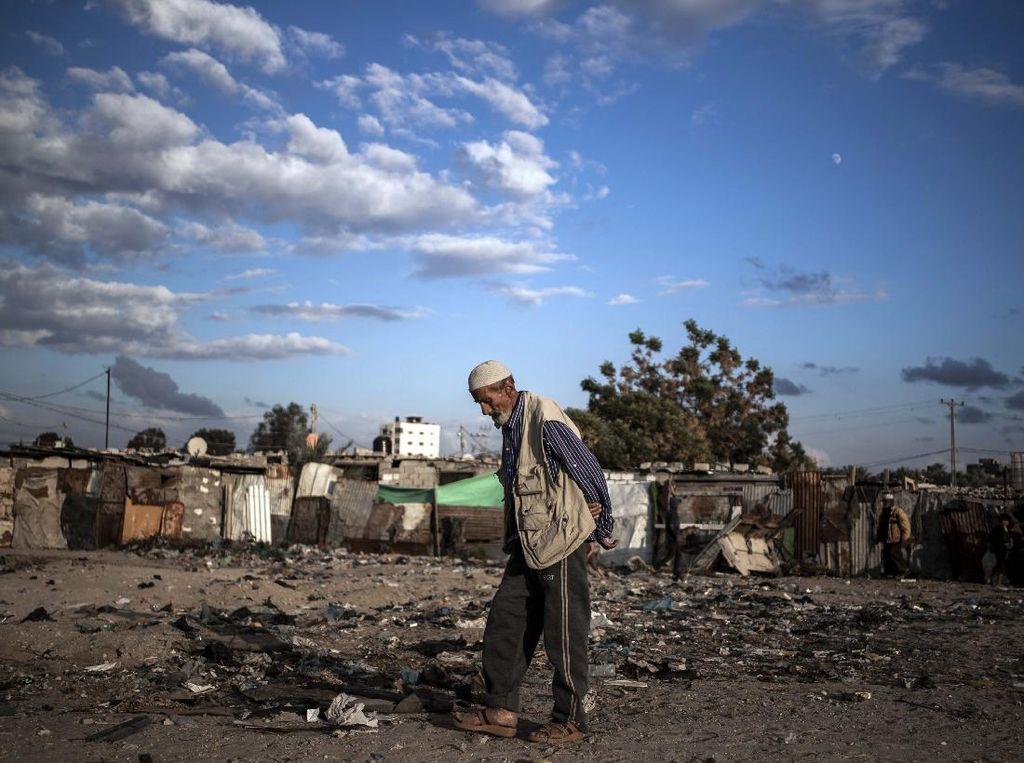 Potret Kemiskinan di Khan Younis Akibat Blokade Israel