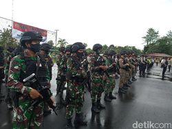 Jelang 1 Desember Pasukan TNI-Polri di Timika Disiagakan Penuh