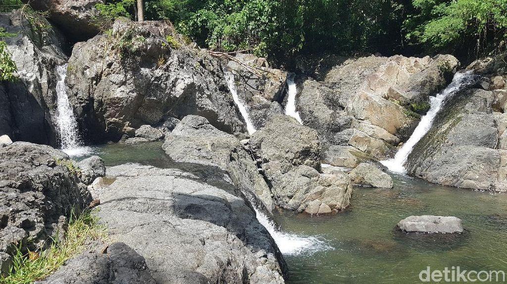 Foto: Air Terjun Kebanggaan Polewali, Salu Sitammu