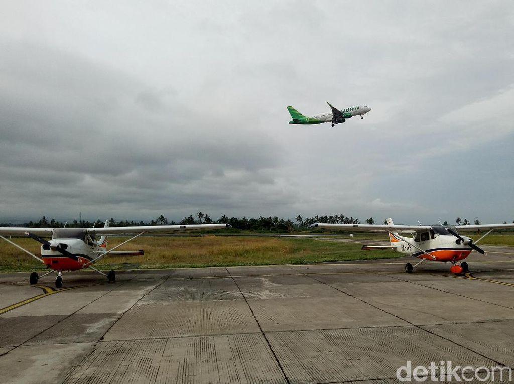 Seminggu Lumpuh Imbas Abu Raung, Bandara Banyuwangi Akhirnya Dibuka Kembali